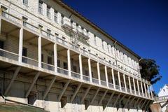 Bâtiments à l'île d'alcatraz Images libres de droits