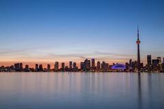 Bâtiments à l'ouest de Toronto du centre Photos libres de droits