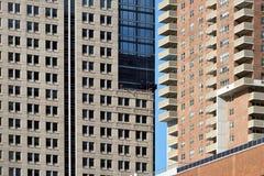 Bâtiments à Manhattan, Etats-Unis photo stock