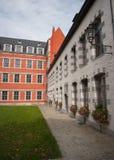Bâtiments à Mons Photo libre de droits