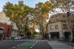 Bâtiments à Palerme Soho - à Buenos Aires, Argentine images stock