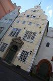 Bâtiments à Riga photo libre de droits