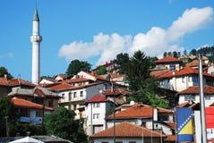 Bâtiments à Sarajevo Photographie stock