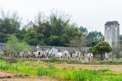 Bâtiments âgés de Hakka Images libres de droits