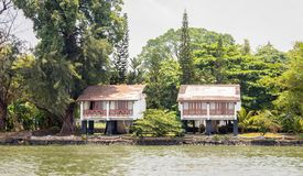 Bâtiments élevés dans la commande marine de Kochin photos libres de droits