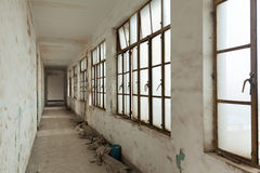 Bâtiments abandonnés Photos stock