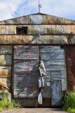 Bâtiments abandonnés dans la région de Léningrad, Russie Photographie stock libre de droits