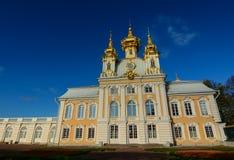 Bâtiments antiques dans le St Petersbourg, Russie Photo stock