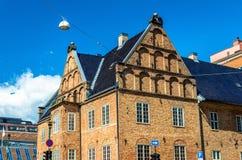 Bâtiments au centre de la ville d'Oslo Image stock