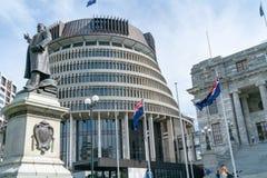 Bâtiments capitaux de gouvernement municipal comprenant le bâtiment de forme conique circulaire connu sous le nom de ruche photo stock