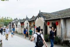 Bâtiments chinois antiques de Hakka Image libre de droits