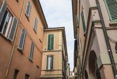 Bâtiments comme fond en Italie Image libre de droits