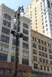 Bâtiments commerciaux à Detroit, Michigan photo stock
