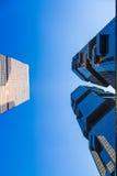 Bâtiments commerciaux Image stock