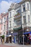 Bâtiments décoratifs à Varna en Bulgarie Image stock