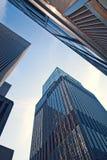 Bâtiments d'affaires de New York City, Etats-Unis Image stock