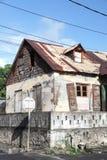 Bâtiments d'architecture en Dominique, Caraïbes photos stock