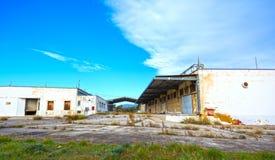 Bâtiments d'entrepôt Photo stock