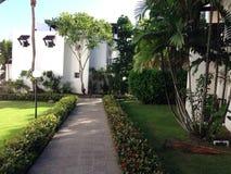 Bâtiments dans un hôtel photographie stock libre de droits