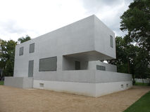 Bâtiments 2014 de Bauhaus de Dessau Allemagne Images libres de droits