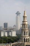 Bâtiments de Changhaï image libre de droits