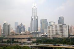 Bâtiments de Changhaï photographie stock libre de droits