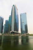 Bâtiments de gratte-ciel du DUBAÏ, U a E Images stock