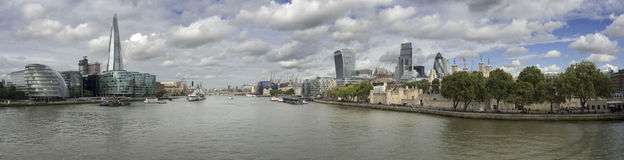 Bâtiments de Londres Images libres de droits