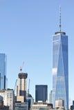 Bâtiments de Manhattan Photographie stock