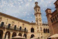 Bâtiments de pueblo Espanol Palma de Mallorca Spain Images libres de droits