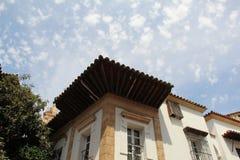 Bâtiments de pueblo Espanol Palma de Mallorca Spain Image libre de droits