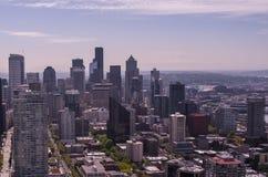 Bâtiments de région de Seattle Image stock