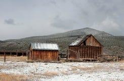Bâtiments de ranch, Utah du sud, route 89 images libres de droits
