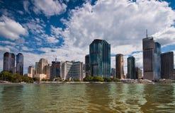 Bâtiments de rive à Brisbane Image stock