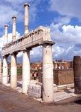 Bâtiments de Roman Forum, Pompeii Photo libre de droits