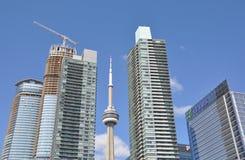 Bâtiments de Toronto Photographie stock libre de droits