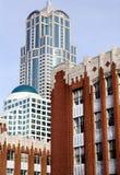 Bâtiments de ville Images libres de droits