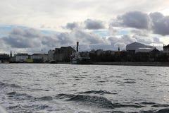 Bâtiments de ville de Copenhague Danemark Photographie stock