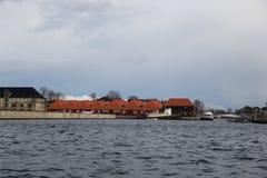 Bâtiments de ville de Copenhague Danemark Photo libre de droits