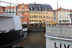 Bâtiments de ville de Copenhague Danemark Images libres de droits