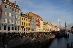 Bâtiments de ville de Copenhague Danemark Photographie stock libre de droits