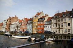Bâtiments de ville de Copenhague Danemark Photos libres de droits