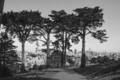Bâtiments de ville de San Francisco photographie stock