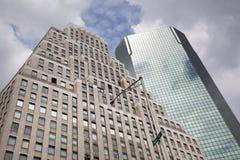 Bâtiments de Wall Street Images libres de droits