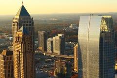 Bâtiments du nord d'Atlanta photographie stock