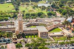 Bâtiments du Parlement du Kenya, Nairobi Images libres de droits