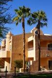 Bâtiments du sud-ouest d'hôtel de style images stock
