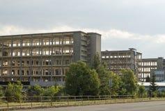 Bâtiments en béton vides Photo stock