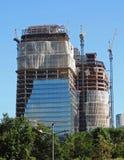 Bâtiments en construction Photographie stock