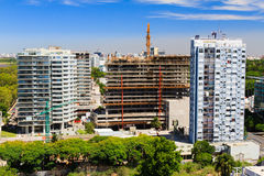 Bâtiments en construction Image libre de droits